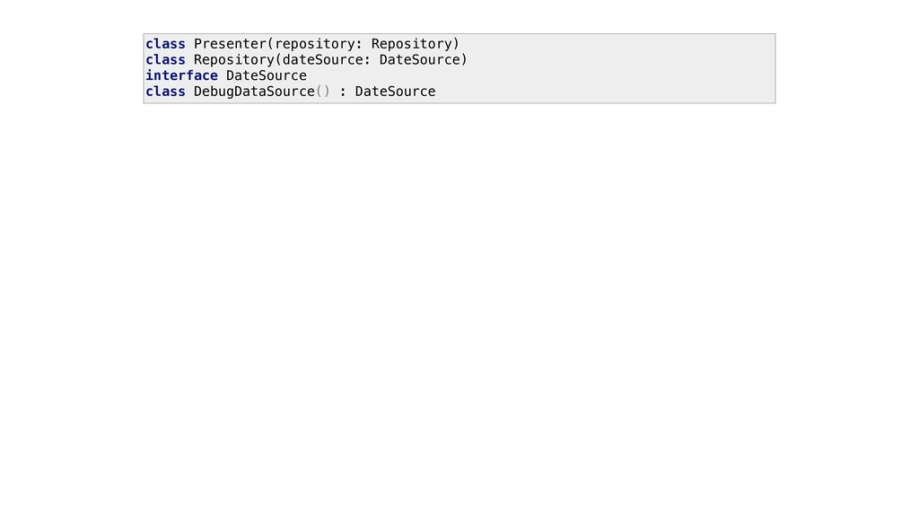 class Presenter(repository: Repository) class R...
