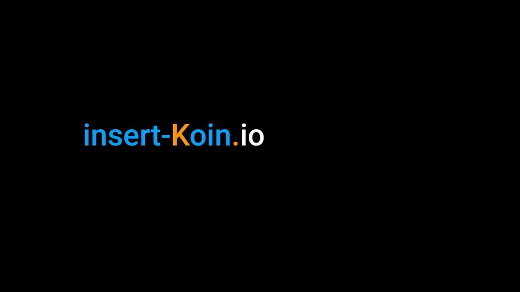insert-Koin.io
