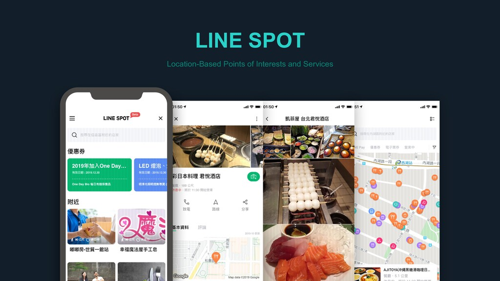 LINE SPOT Location-Based Points of Interests an...