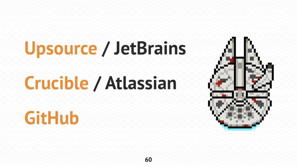 60 Upsource / JetBrains Crucible / Atlassian Gi...