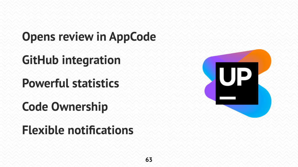 63 Opens review in AppCode GitHub integration P...