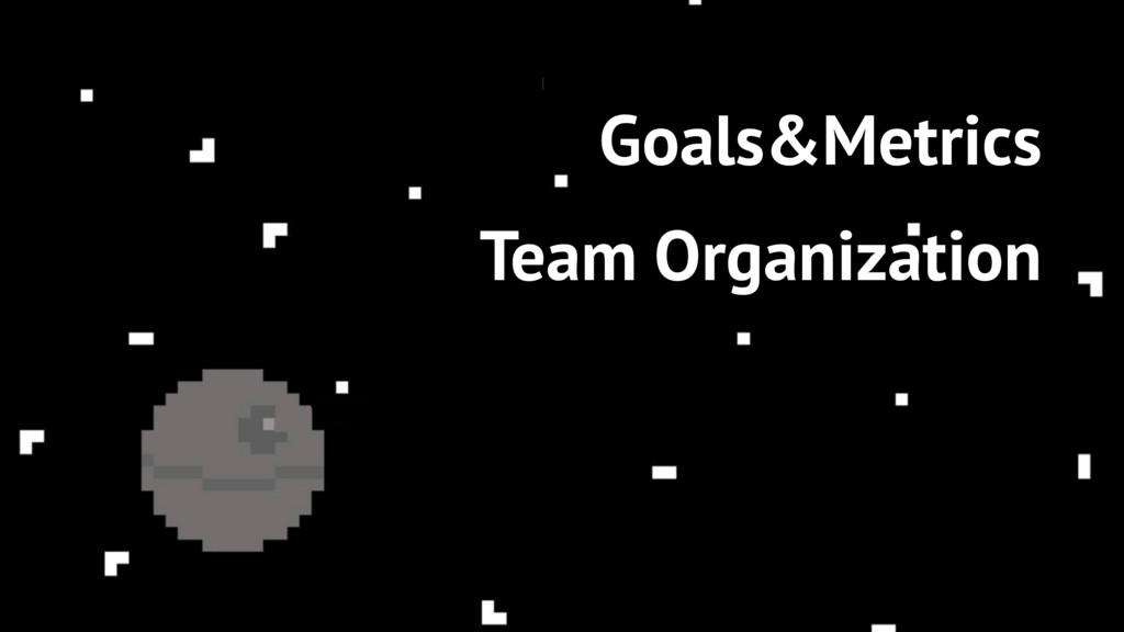 79 Goals&Metrics Team Organization