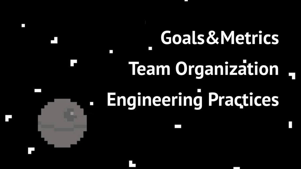 80 Goals&Metrics Team Organization Engineering ...