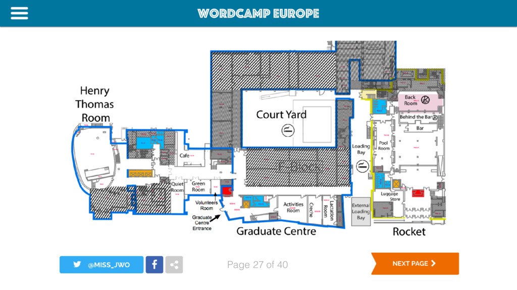 WordCamp Europe Page of 40 27