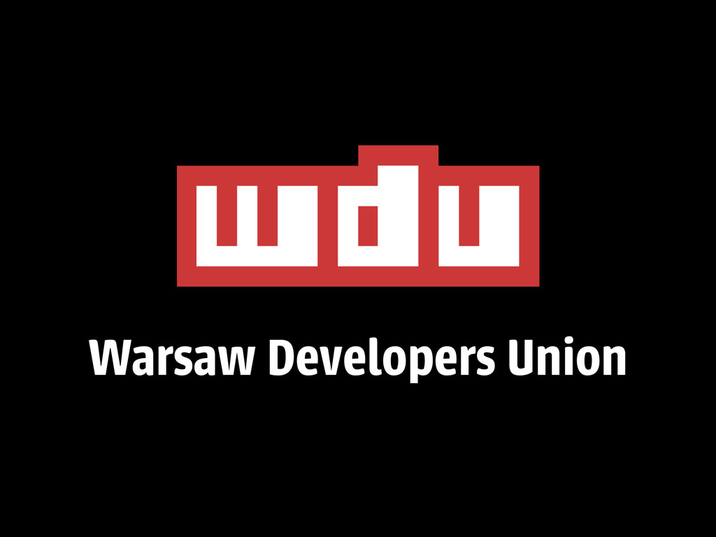Warsaw Developers Union