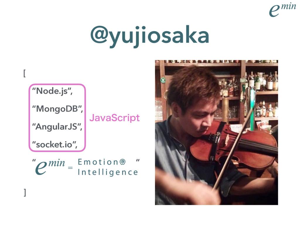 "[ ""Node.js"", ""MongoDB"", ""AngularJS"", ""socket.io..."