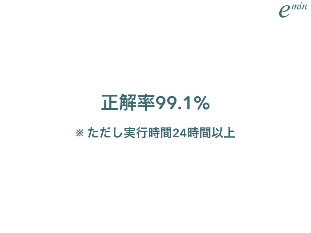 ਖ਼ղ99.1% ※ ࣮ͨͩ͠ߦؒ24ؒҎ্