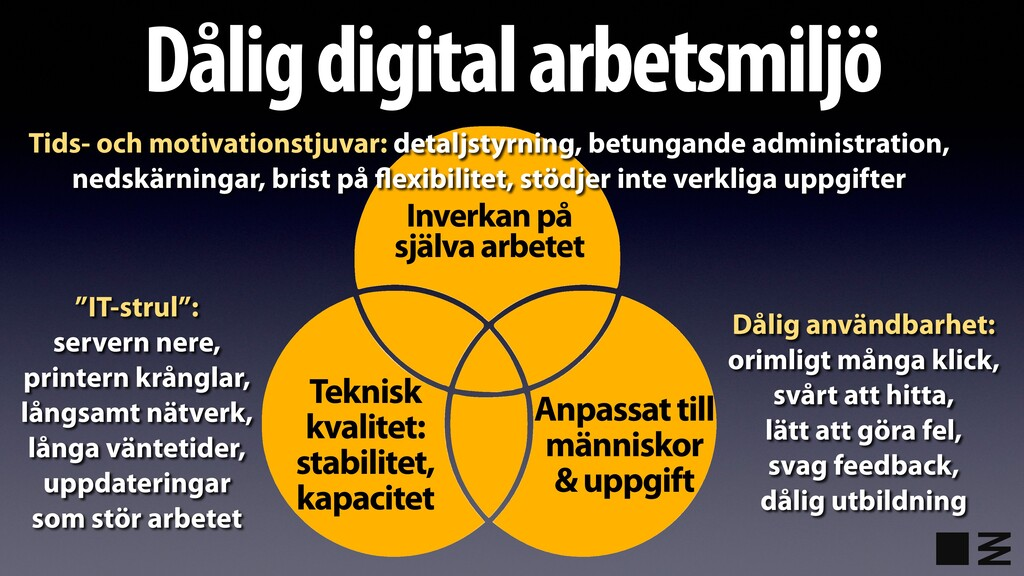 "Dålig digital arbetsmiljö ""IT-strul"": servern n..."