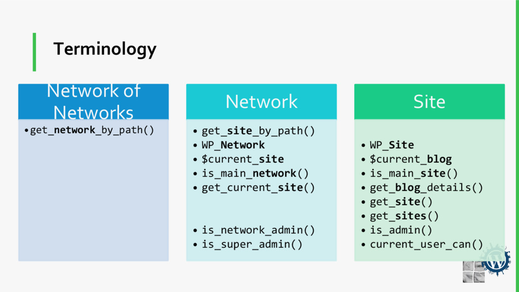 Terminology Network of Networks •get_network_by...