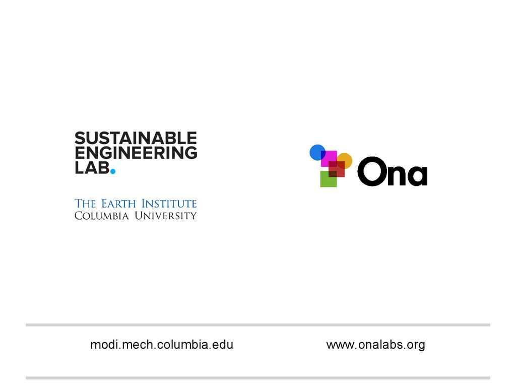 modi.mech.columbia.edu www.onalabs.org
