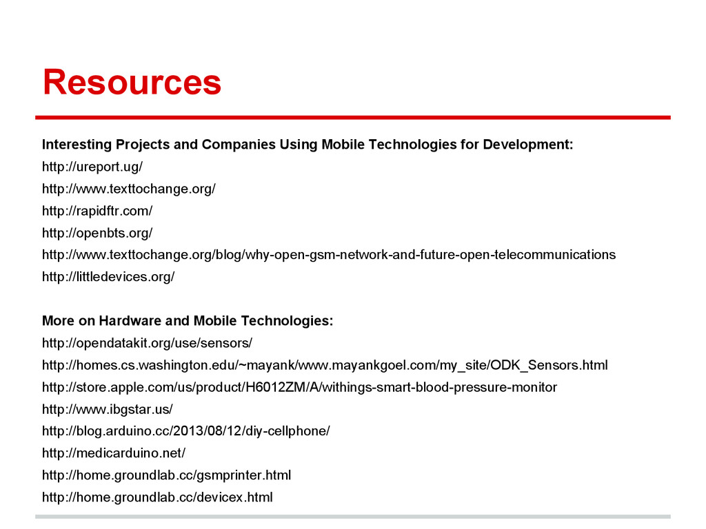 Resources Interesting Projects and Companies Us...