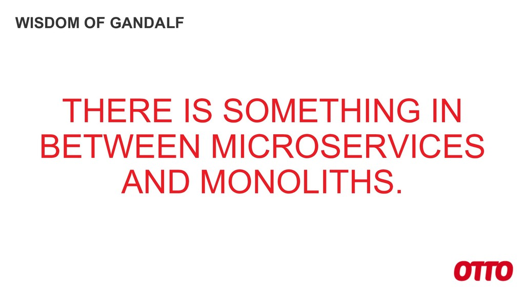 WISDOM OF GANDALF THERE IS SOMETHING IN BETWEEN...