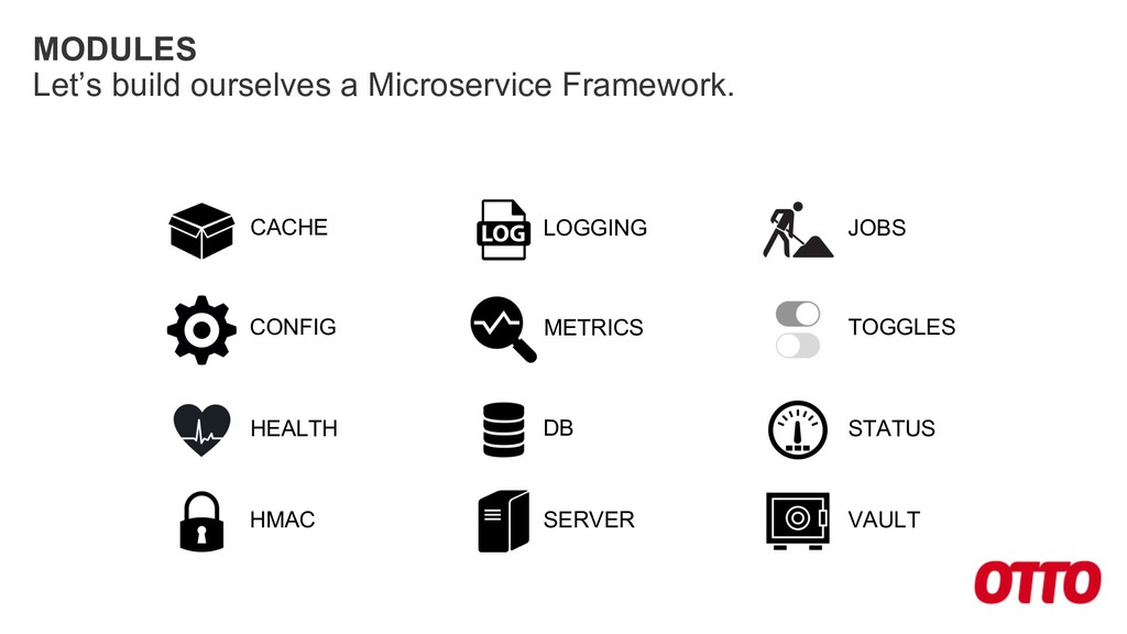 MODULES Let's build ourselves a Microservice Fr...