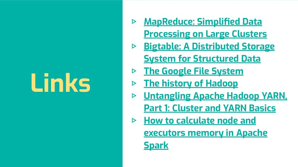 ▷ MapReduce: Simplified Data Processing on Large...