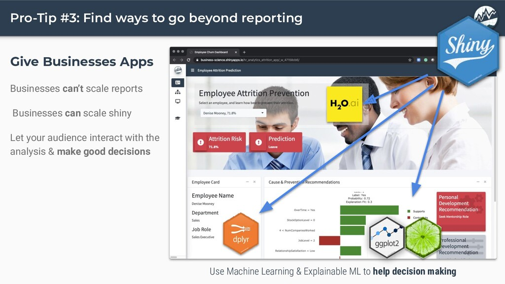 Pro-Tip #3: Find ways to go beyond reporting Gi...