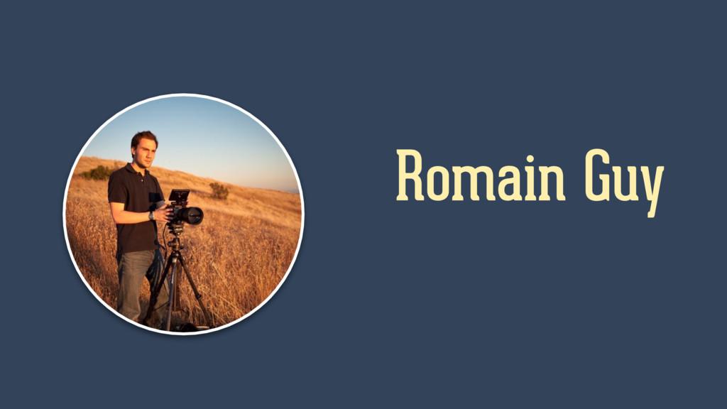 Romain Guy