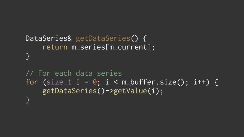DataSeries& getDataSeries() { return m_series[...