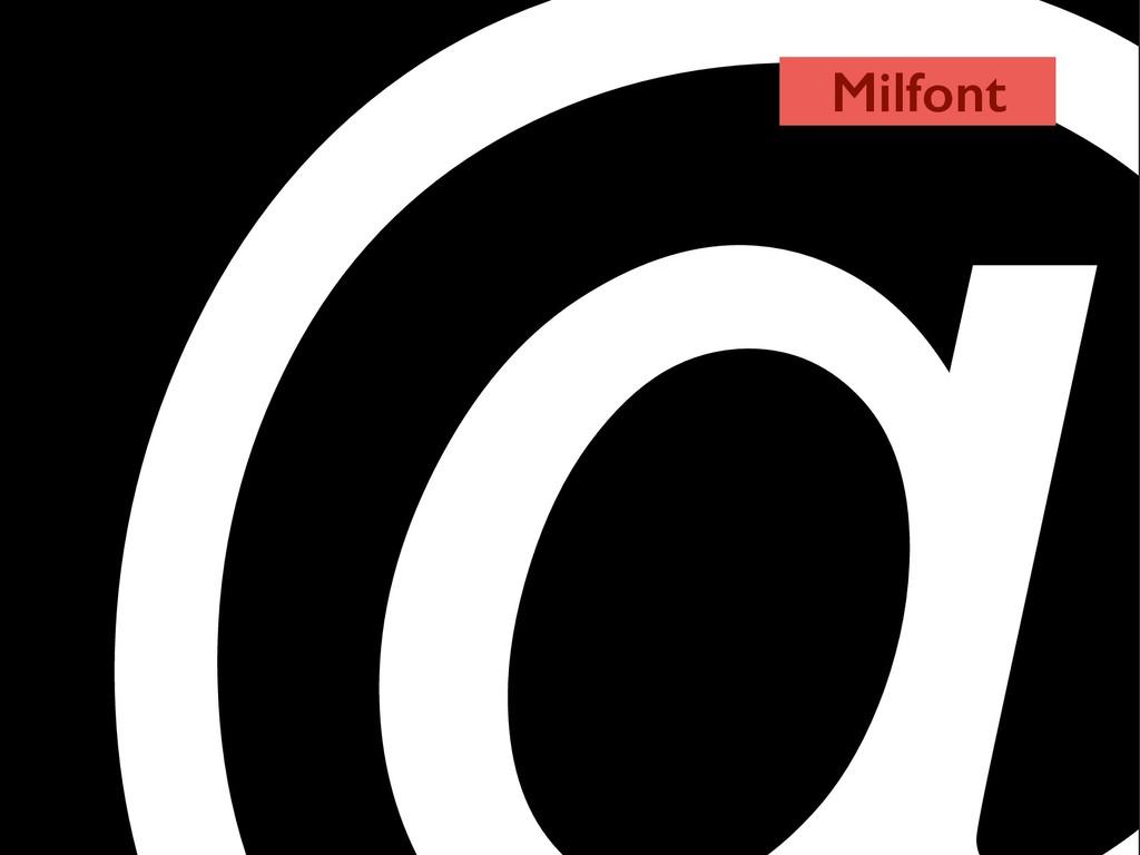Milfont
