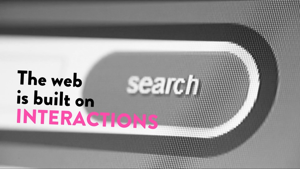 @marktimemedia The web is built on INTERACTIONS