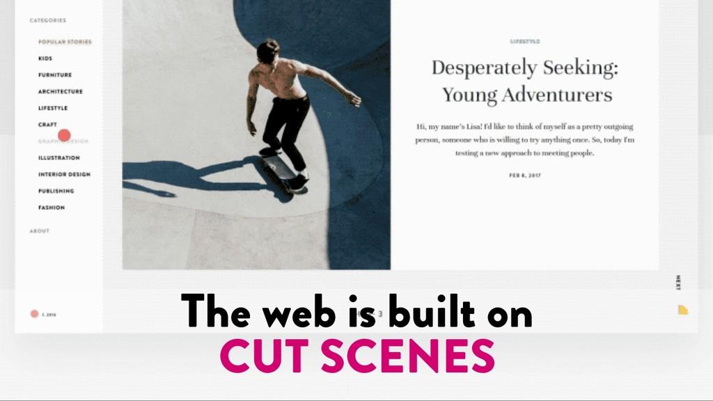 @marktimemedia The web is built on CUT SCENES