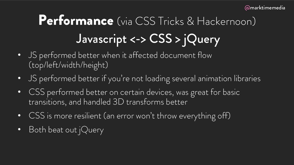 @marktimemedia Performance (via CSS Tricks & Ha...