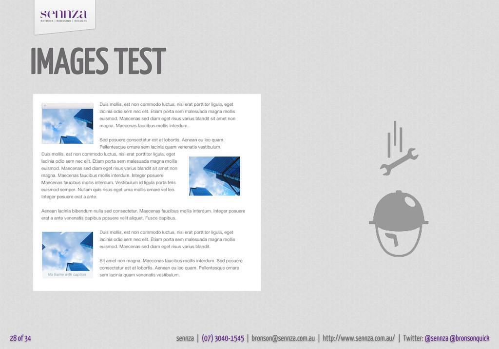 IMAGES TEST 28 of 34 sennza | (07) 3040-1545 | ...