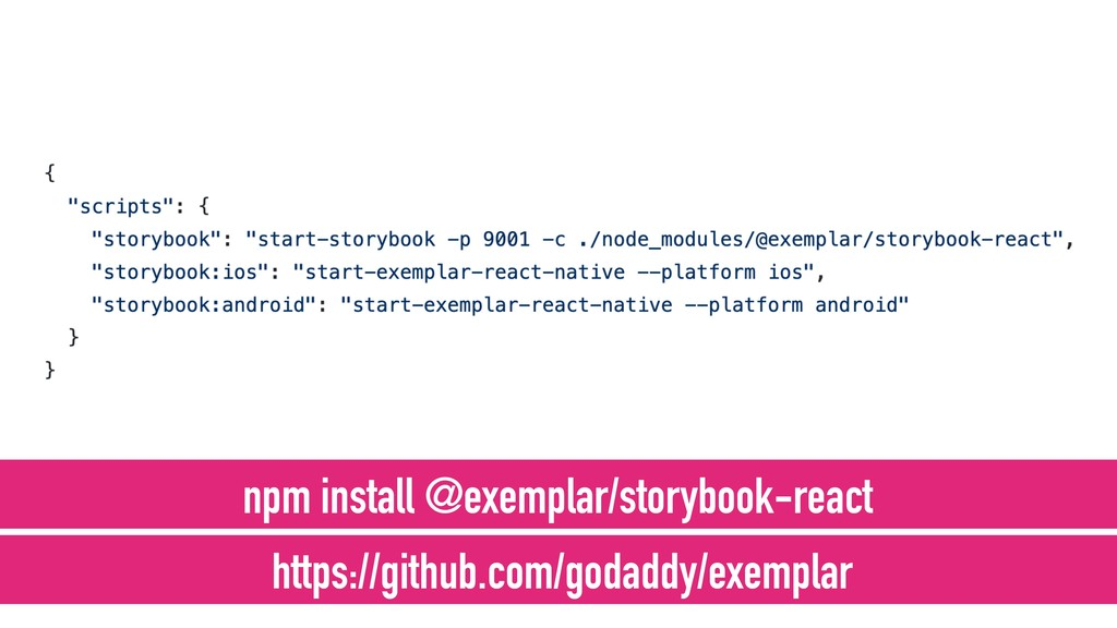 npm install @exemplar/storybook-react https://g...
