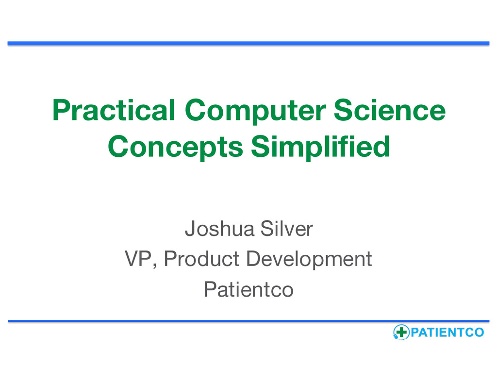 Practical Computer Science Concepts Simplified ...