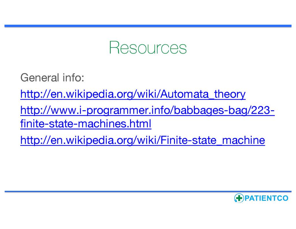 Resources General info: http://en.wikipedia.org...