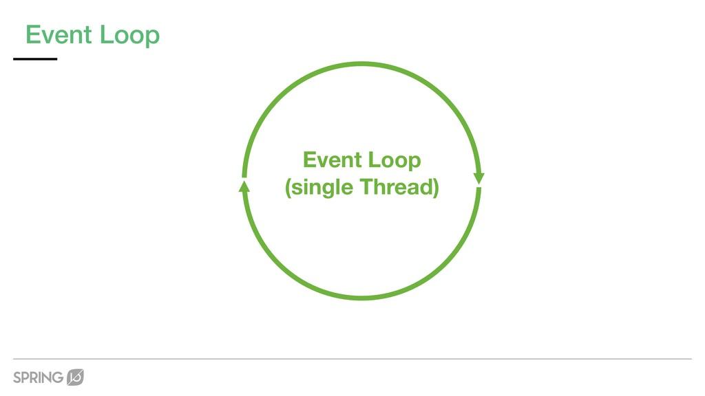 Event Loop Event Loop (single Thread)
