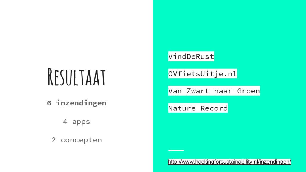 Resultaat VindDeRust OVfietsUitje.nl Van Zwart ...