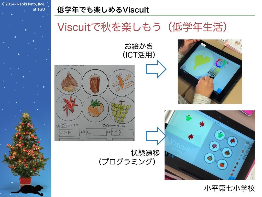 ©2014- Naoki Kato, IML at TGU 低学年でも楽しめるViscuit ...