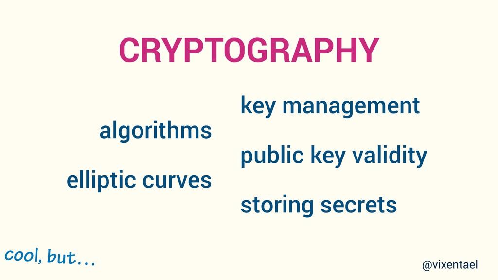 algorithms elliptic curves key management publi...
