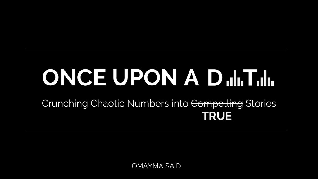Crunching Chaotic Numbers into Compelling Stori...