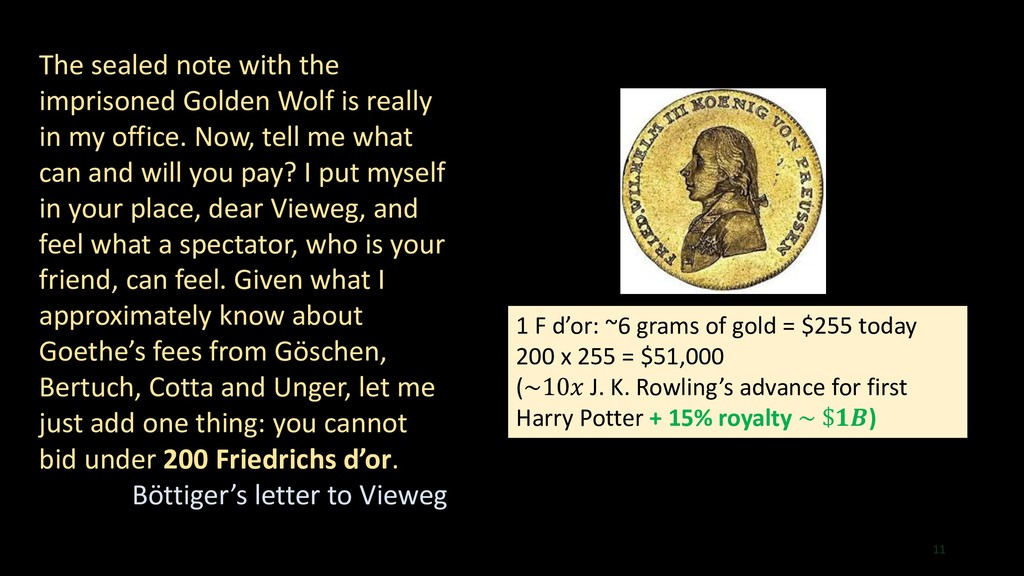 11 The sealed note with the imprisoned Golden W...