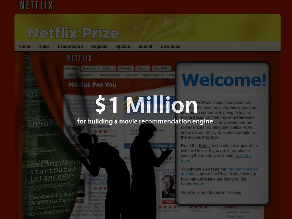 $1 Million for building a movie recommendation ...