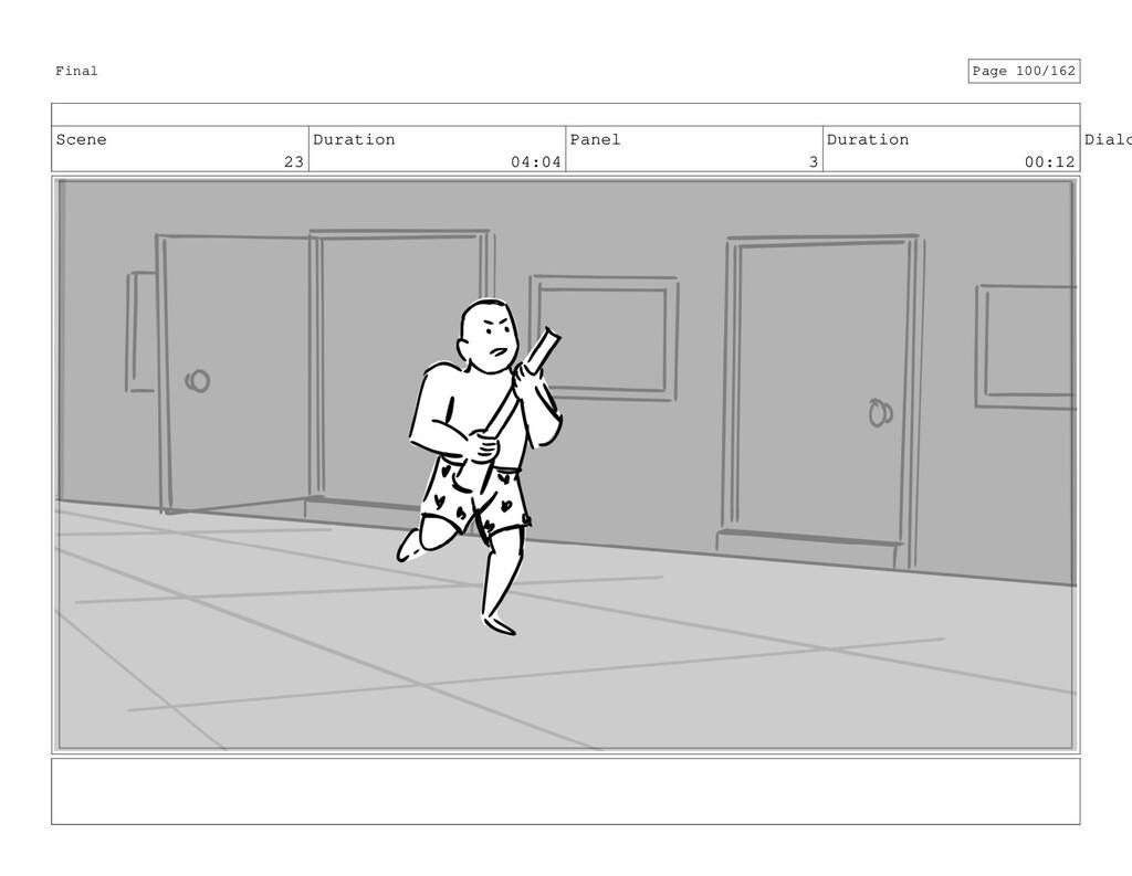 Scene 23 Duration 04:04 Panel 3 Duration 00:12 ...