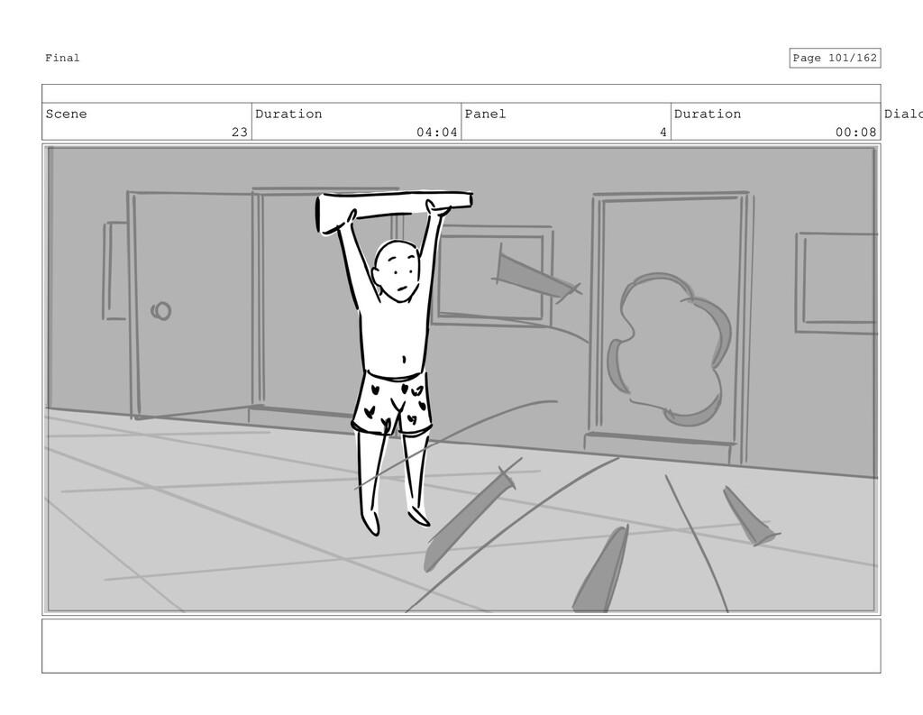 Scene 23 Duration 04:04 Panel 4 Duration 00:08 ...