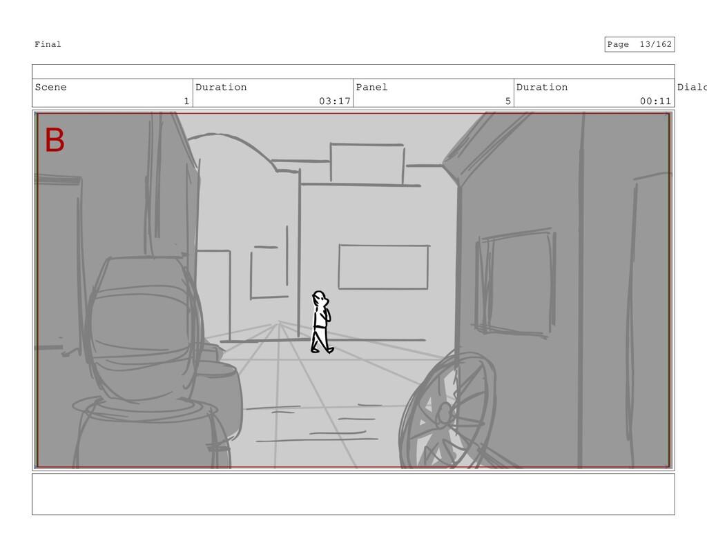 Scene 1 Duration 03:17 Panel 5 Duration 00:11 D...