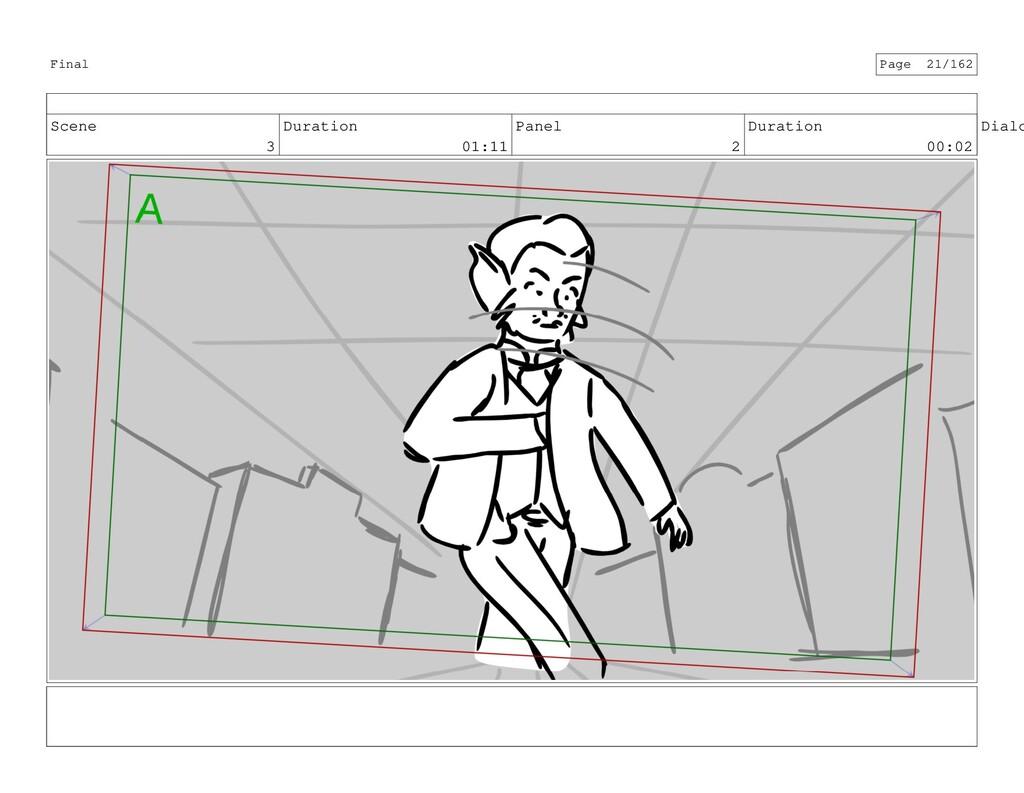 Scene 3 Duration 01:11 Panel 2 Duration 00:02 D...
