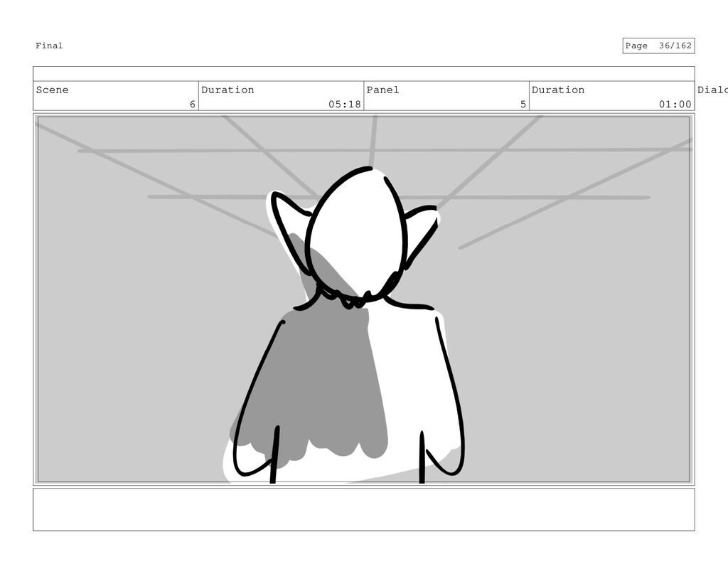 Scene 6 Duration 05:18 Panel 5 Duration 01:00 D...