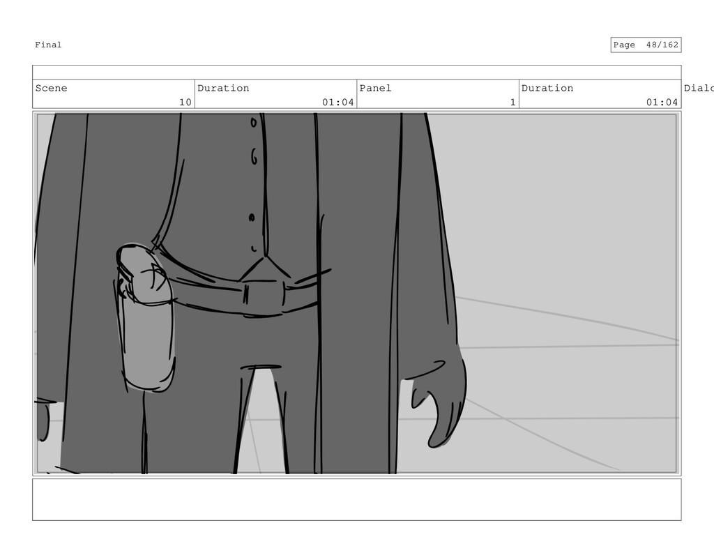 Scene 10 Duration 01:04 Panel 1 Duration 01:04 ...