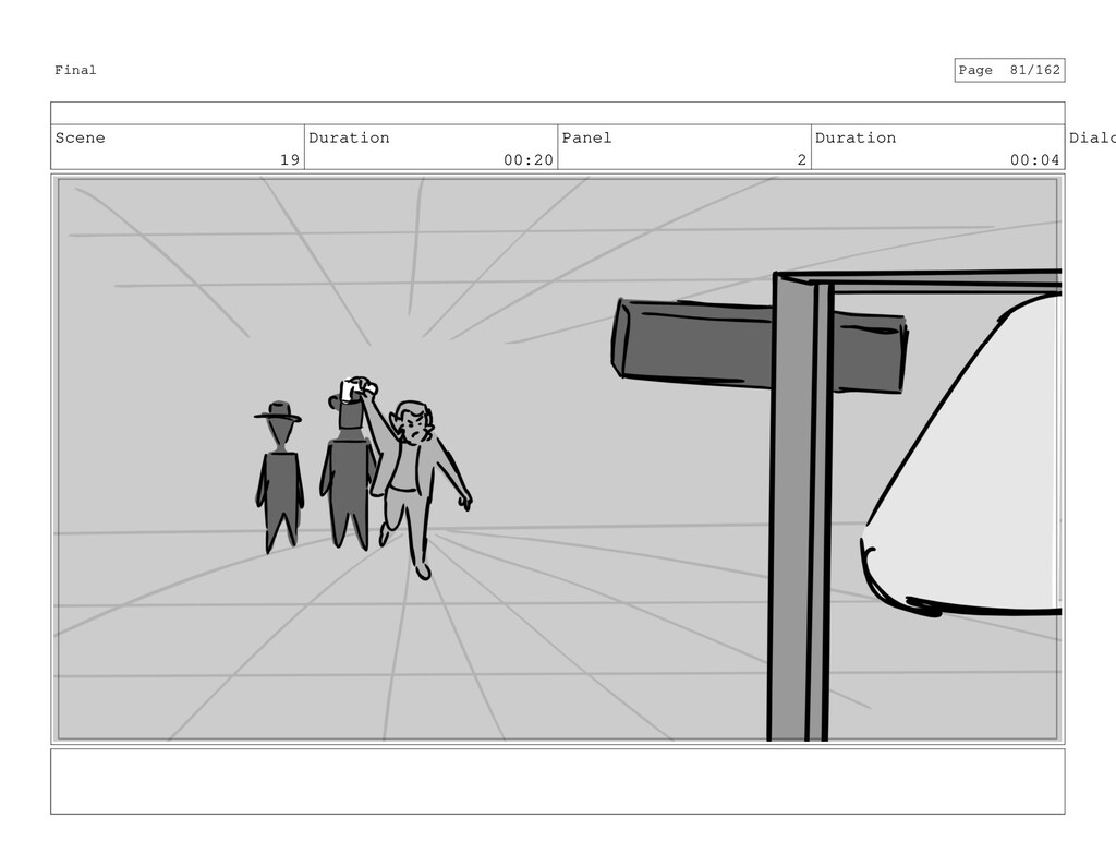 Scene 19 Duration 00:20 Panel 2 Duration 00:04 ...