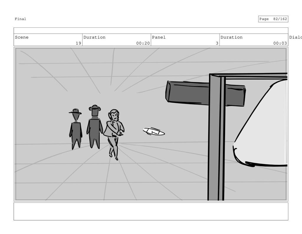 Scene 19 Duration 00:20 Panel 3 Duration 00:03 ...