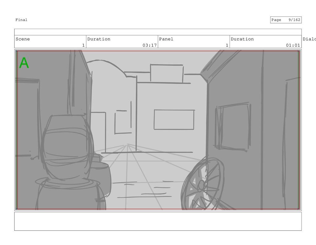 Scene 1 Duration 03:17 Panel 1 Duration 01:01 D...
