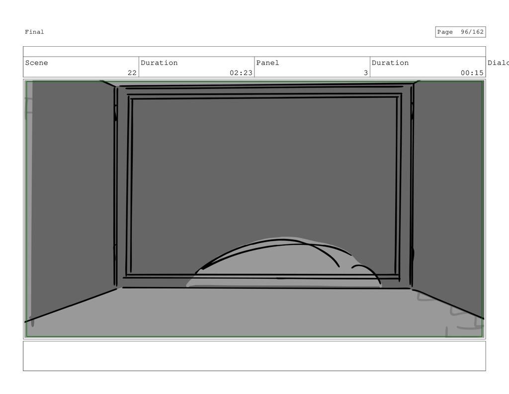 Scene 22 Duration 02:23 Panel 3 Duration 00:15 ...