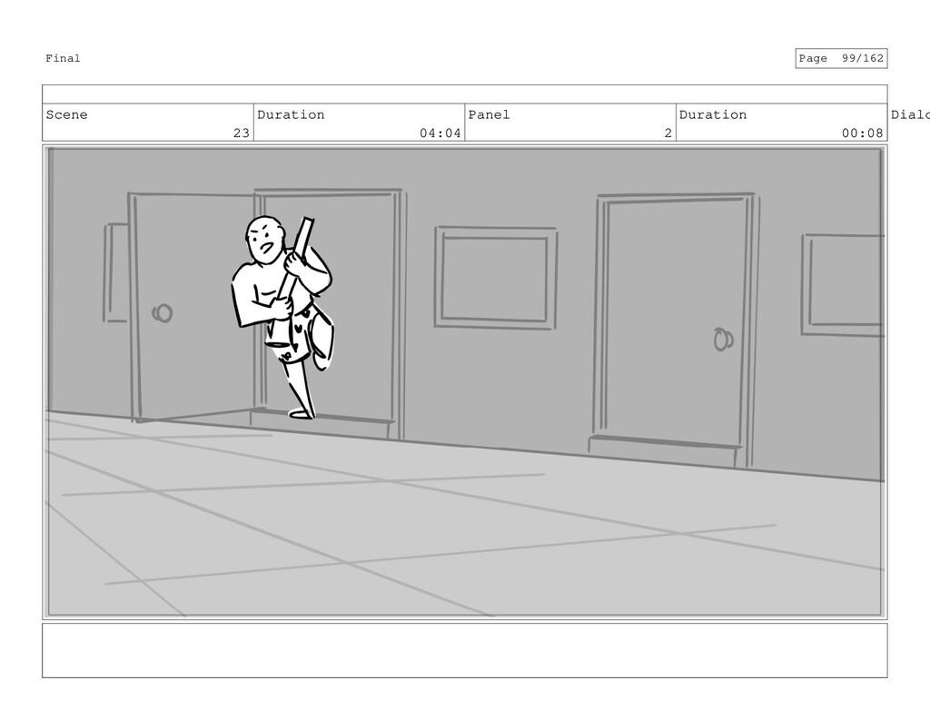 Scene 23 Duration 04:04 Panel 2 Duration 00:08 ...