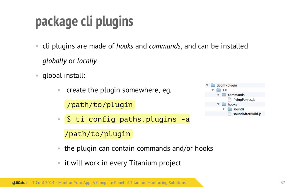 package cli plugins • cli plugins are made of h...