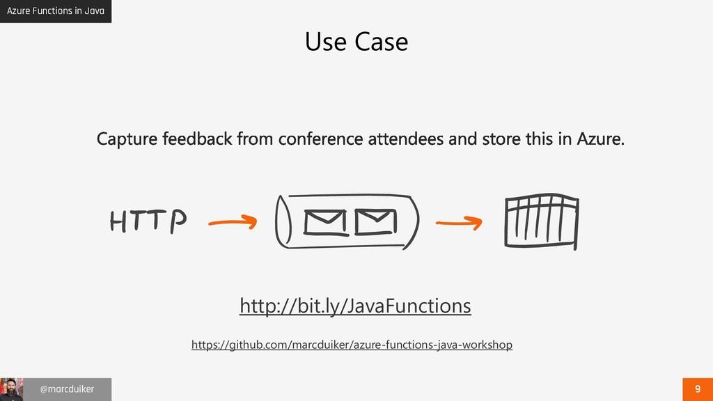 Azure Functions in Java @marcduiker Use Case ht...