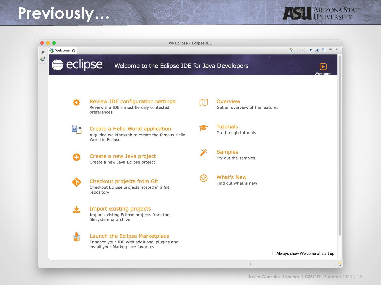 IDE Using IntelliJ
